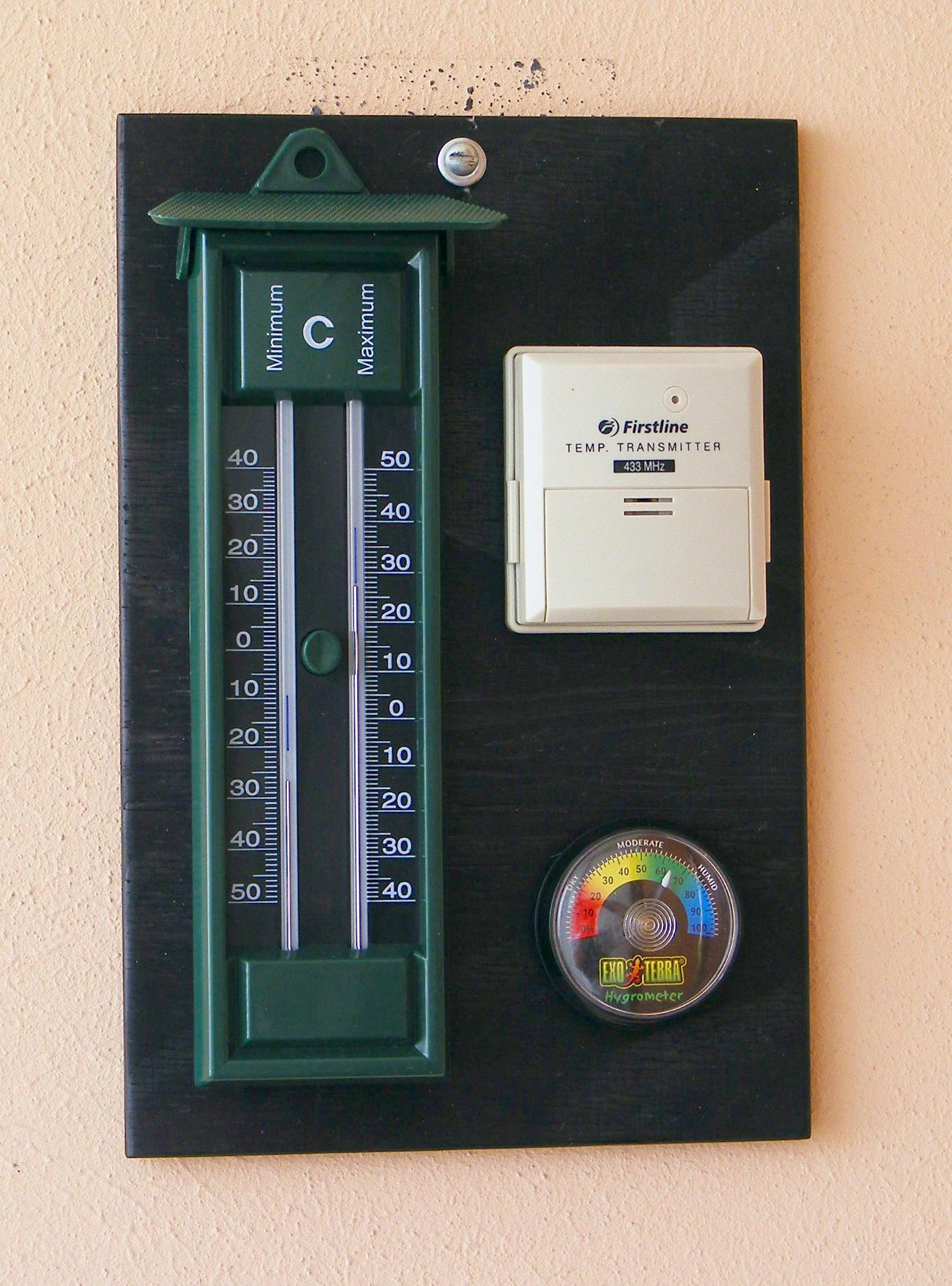 Stazione meteo 'analogica'
